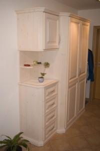 Wohnzimmer aus Holz Schreinerei Nagl