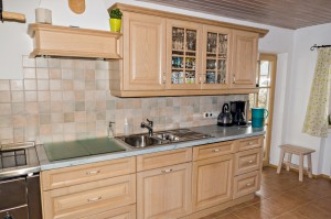 Küche aus Holz Schreinerei Nagl