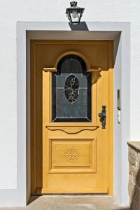 Haustür aus Holz Schreinerei Nagl