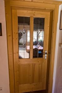 Zimmertür aus Holz Schreinerei Nagl